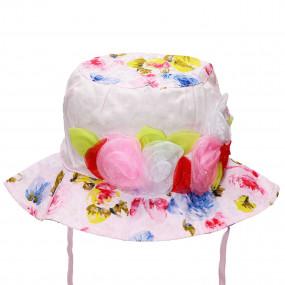 Ультралёгкая панама для девочки Rosery, розовый