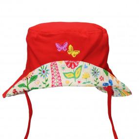 Панама SUN Protection TuTu (с защитой UV50+), красный