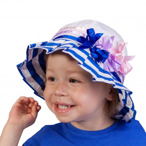 Шляпка летняя Plisse, синий