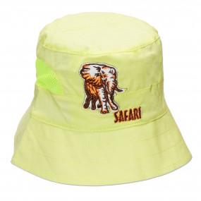 Панама для мальчика Safari (100% хлопок), салатовый