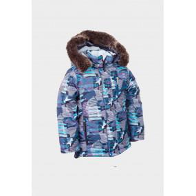 Комплект зимний Bigfoot для мальчика, с подстежкой из овчины (синий)