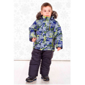 Комплект зимний Bigfoot для мальчика, с подстежкой из овчины