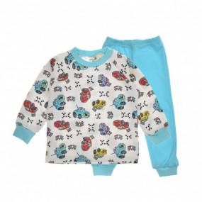 "Пижама для мальчика ""Race"", интерлок"