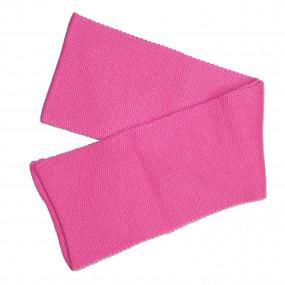 Шарф детский розовый (130 х 12 см), полушерсть
