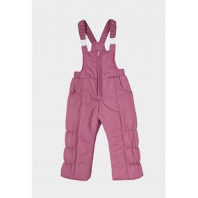 Полукомбинезон PILGRIM для девочки демисезонный (тёмно-розовый)