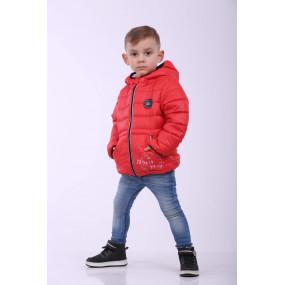 Куртка для мальчика STALKER демисезонная (красный)