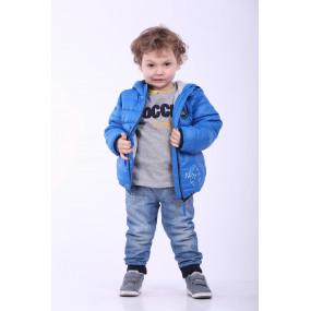 Куртка для мальчика STALKER демисезонная (электрик)