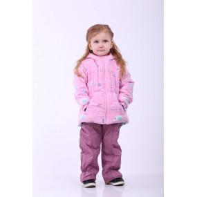 Комплект Роуз демисезонный для девочки (розовый), Goldy