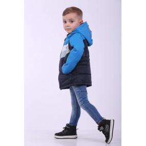 Куртка EXTREME демисезонная для мальчика (электрик), ТМ Goldy