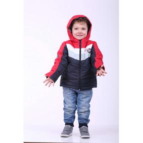 Куртка EXTREME демисезонная для мальчика (красный), ТМ Goldy