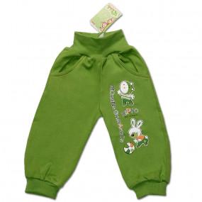 Штаны для детей ЛАКИ, зелёный