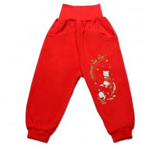 Штаны для детей ЛАКИ, красный
