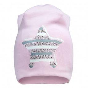 Демисезонная шапочка для девочки Shiny star (премиум качество)