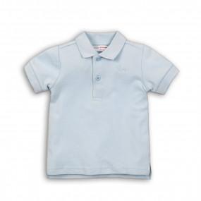 Поло для мальчика хлопок-лакост (Англия), голубой