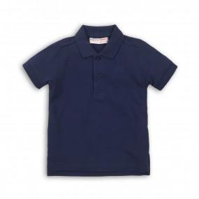 Поло для мальчика хлопок-лакост (Англия), синий