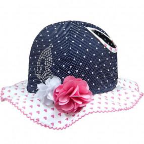 Шляпка (панама) для девочек Angel (премиум) 100% хлопок