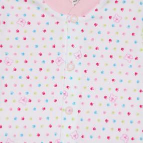 Кофточка для новорожденных BEAR (Польша), розовый