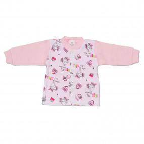Кофточка для новорождённых Classic (Польша), розовый