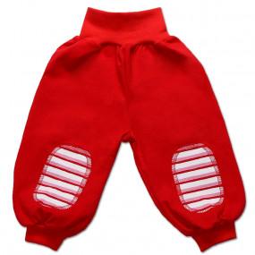 ХИТ! Штаны для мальчика ПОЛО интерлок (Польша), красный