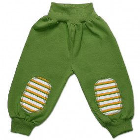 Штаны для мальчика ПОЛО интерлок (Польша), зелёный