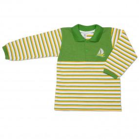 Футболка POLO (хлопок лакост), зелёный