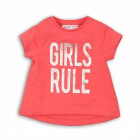 Футболка для девочки GIRLS RULE (Англия)