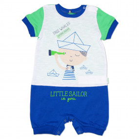 Песочник Little Sailor (супрем), серый