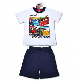 Комплект (футболка и шорты) Disney Cars, белый