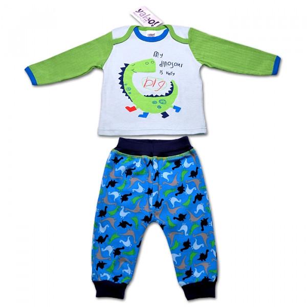 Пижама для мальчика ДРАКОША, 74-92 см