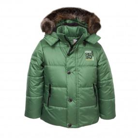 Куртка зимняя Excellent от ТМ Goldy, отстежная овчина