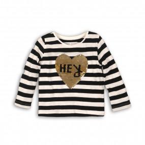 Реглан с пайетками HEY для малышки (Англия)