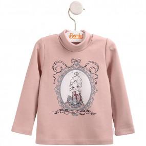 Гольф для девочки Принцесса ГФ84 (премиум), розовая пудра