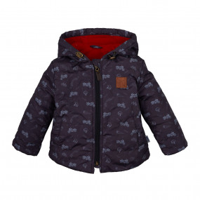 Куртка демисезонная для мальчика Байкер (КТ169) Бемби