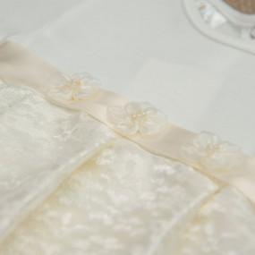 """Платье нарядное """"Фея"""", хлопок и молочный гипюр"""