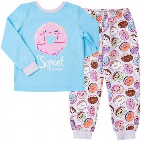 Пижама тёплая Сладкий пончик (КП188)
