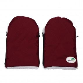Муфта рукавицы Extreme (3006), бордо на овчине