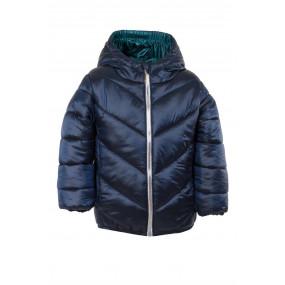 Куртка для девочки STYLISH демисезонная (синий перламутр)