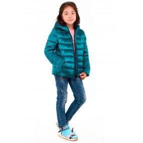 Куртка для девочки PEARL демисезонная (изумруд)