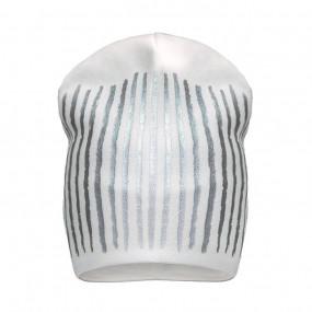 Демисезонная шапка 18231 (премиум), молоко
