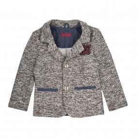 Пиджак трикотажный с начёсом ЖК17 (дизайнерская коллекция)