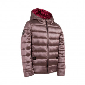 Куртка для девочки PEARL демисезонная (кофе)