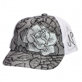 Кепка для девочки Bohemian Rose (дизайнерская линия), black