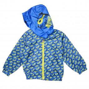 Ветровка для мальчика Verscon (ярко-синий)