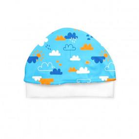 Шапочка Хмаринки в роддом (100% хлопок)