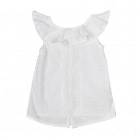 Блуза нарядная (РБ91) премиум, вуаль
