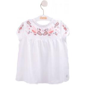 Блуза нарядная (РБ92) премиум, вуаль