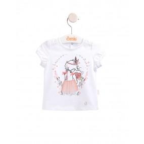 Блуза нарядная (ФБ544) премиум, хлопок/вуаль