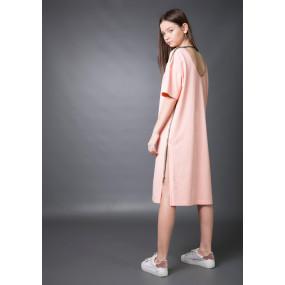 Платье-футболка ЛОЯ oversize (стрейч-кулир)
