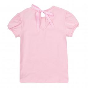 """Блуза 110532 розовый фламинго """"Нарядная серия"""""""