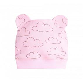 Шапочка Облачка ШП76 (100% хлопок), розовый
